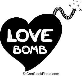 amor, bomba