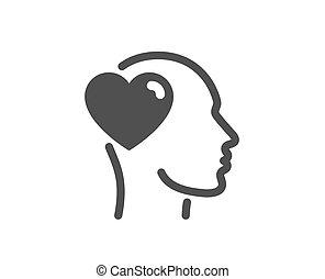 amor, sinal., business., vetorial, icon., amizade, assistência, amigo