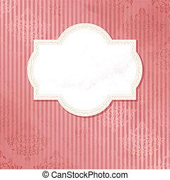 antigüidade, casório, cor-de-rosa, etiqueta