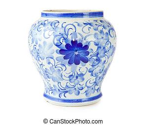 antigüidade, chinês, vaso