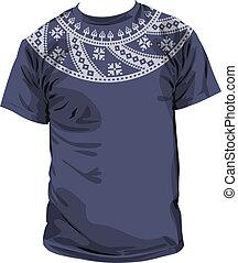 antiga, vetorial, ilustração, t-shirt.