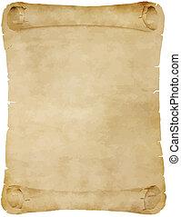 antigas, pergaminho, scroll