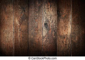 antigas, resistido, abstratos, experiência., madeira, planks.