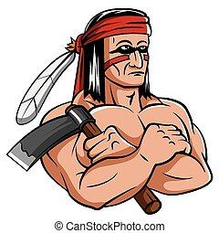 apache, mascote