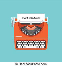 apartamento, conceito, copywriting, ilustração