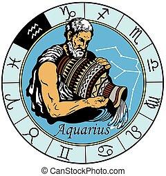 aquário, astrológico, signos