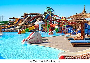aquapark, hotel