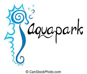 aquapark, símbolo