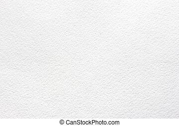 aquarela, branca, papel, textura