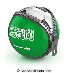 arábia, saudita, futebol, nação