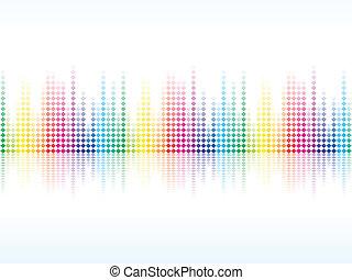 arco íris, brilho, coloridos, abstratos