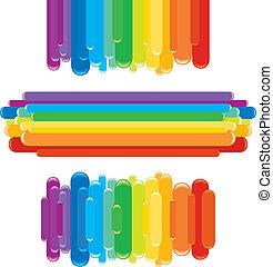 arco íris, desenho