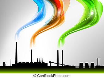 arco íris, fábrica