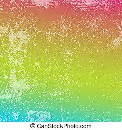 arco-íris grunge, textura
