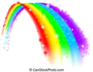 arco íris, projete elemento
