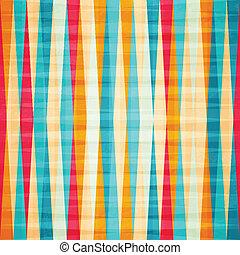 arco íris, rhombus, seamless, padrão