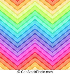 arco íris, seamless, fundo
