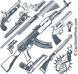 arma, cobrança