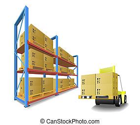 armazenamento, equipment.