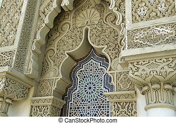 arquitetura, marroquino