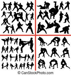 arte marcial, mistura