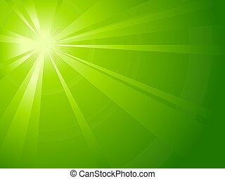 assimétrico, verde claro, estouro