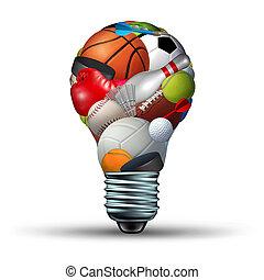 atividade esportes, idéias