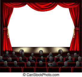 audiência, cinema