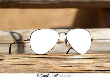 aviador, óculos de sol