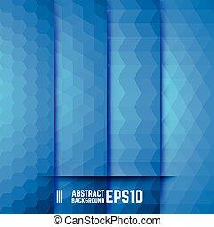 azul, abstratos, jogo, fundos