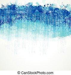 azul, blob