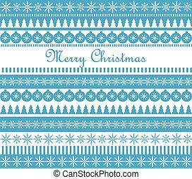 azul, cartão natal, saudação