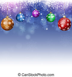 azul, feriado, xmas, fundo