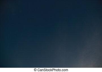 azul, fim, céu, cima, nuvem