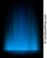 azul, norte, aurora, eps, luzes, 8, borealis.