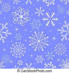 azul, padrão, natal, seamless