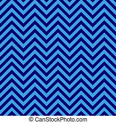 azul, padrão, seamless, chevron