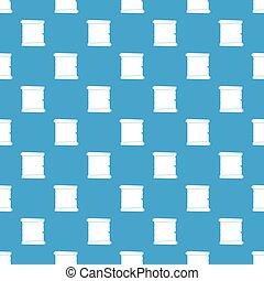 azul, padrão, seamless, papel, retro, scroll