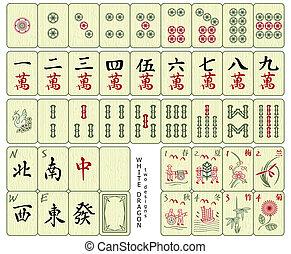azulejos, mahjong