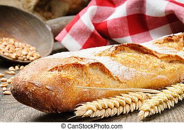 baguette, francês