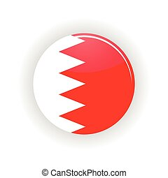 bahrain, círculo, ícone