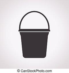 balde, ícone