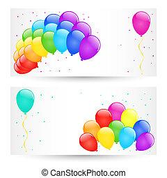balloons., vetorial