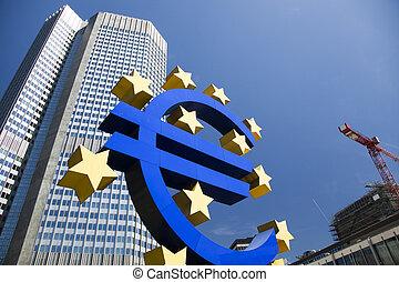 banco, europeu, central