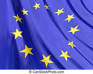 bandeira, europeu