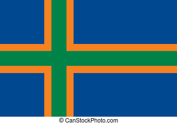 bandeira, vendsyssel, área