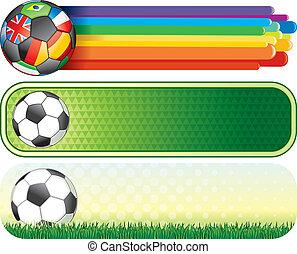 bandeiras, futebol