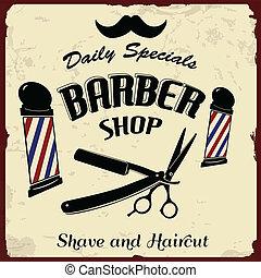 barbeiro, denominado, vindima, loja