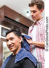 barbershop, homem