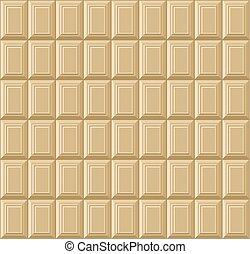barzinhos, pattern., seamless, chocolate, vetorial, fundo, branca